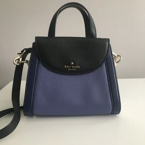 Kate Spade CobbleHill Leather Small Adrien Satchel